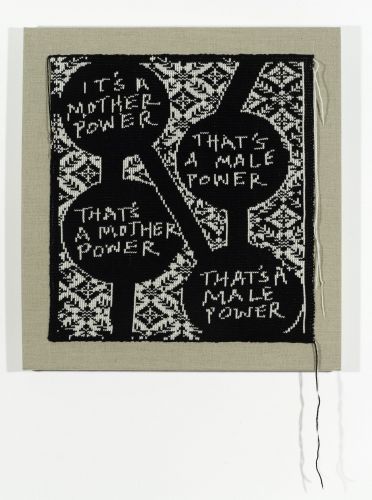 Lisa Anne Auerbach, Mother Power Male Power, 2014