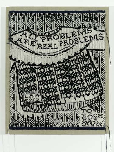 Lisa Anne Auerbach, All Problems Are Real Problems, 2014