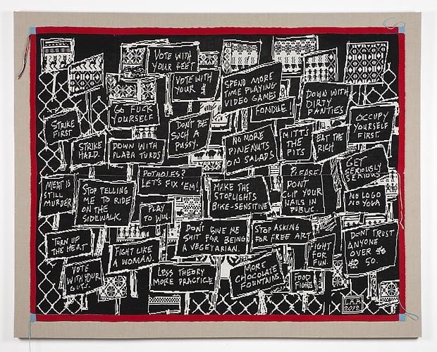 Lisa Anne Auerbach, Strike First Strike Hard, 2012