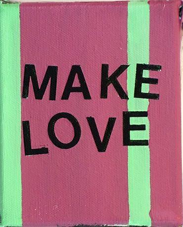 Betty Tompkins Make Love, 2015