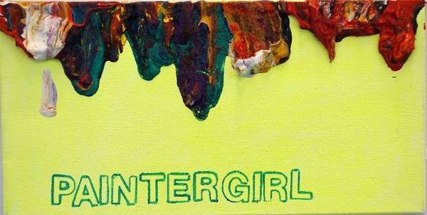 Betty Tompkins Paintergirl, 2014