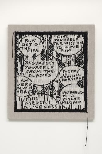 Lisa Anne Auerbach, Run Out Of The Fire, 2014