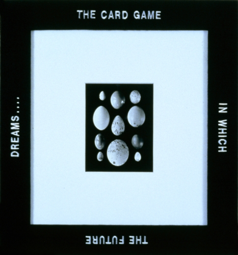Rob Wynne, The Card Game..., 1996