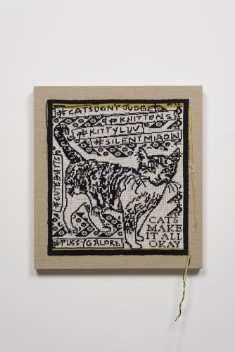 Lisa Anne Auerbach, Cats Make it All Ok, 2014