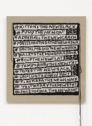 Lisa Anne Auerbach, #PUSSYTHENEWCAT, 2014