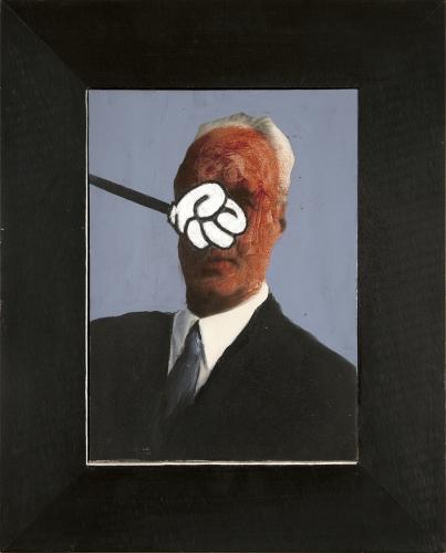 Llyn Foulkes Bloody Heads Frank Gehry