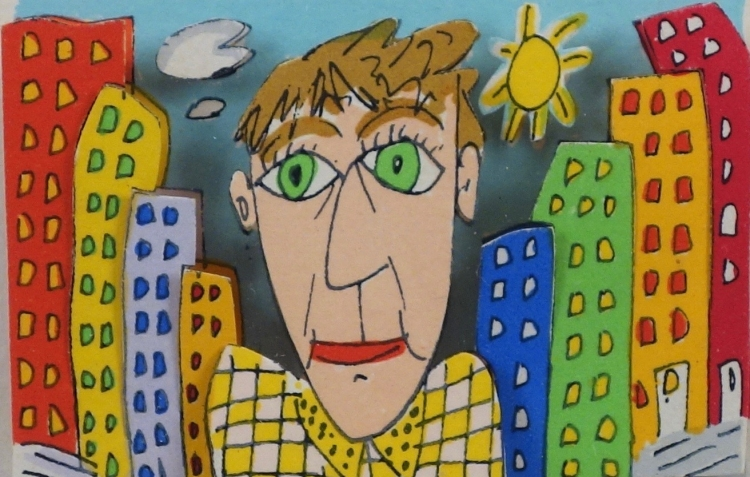 james rizzi the new kid in town 1990 3d