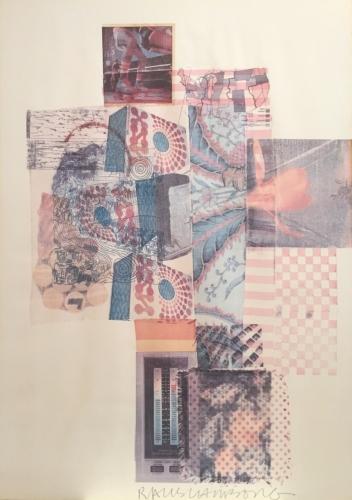 Robert Rauschenberg American Academy of Achievement Lithograph 1987