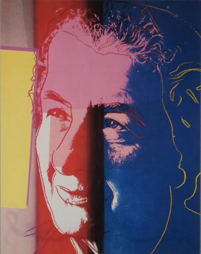 Andy Warhol Golda Meir 1980 Lithograph