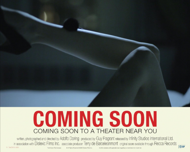 """Placart or Lobby Card for """"COMING SOON"""" COMING SOON TO A THEATER NEAR YOU (Legs)"""