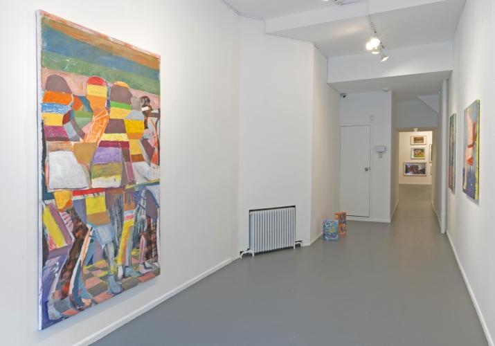 Ezra Johnson / Cap'n Crunch /  Installation view