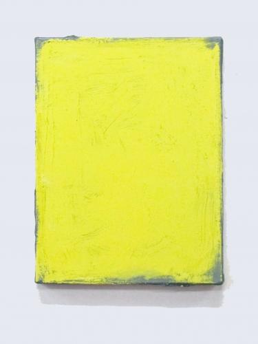 Amarelo sobre grafite