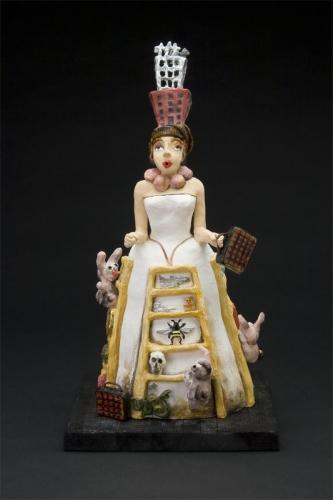 Rebecca Goyette, Outlet Fine Art, Outlet, Brooklyn, clay, ceramic, sculpture, Brooklyn