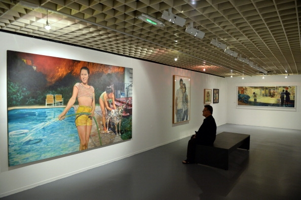 Installation View: Musee D'Aquitaine, Bordeaux, France