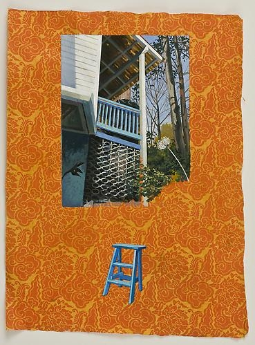 ANDA DUBINSKIS  What She Does (Upstairs Porch) 2011