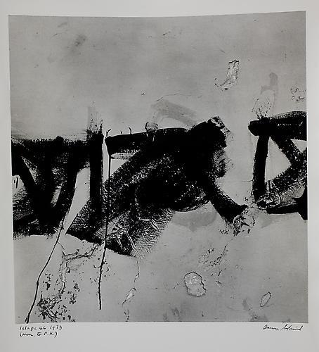 AARON SISKIND  Jalapa 46 (Homage to Franz Kline) 1973