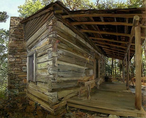 FELIX DE LA CONCHA  Tatum Cabin Boone, NC 2001