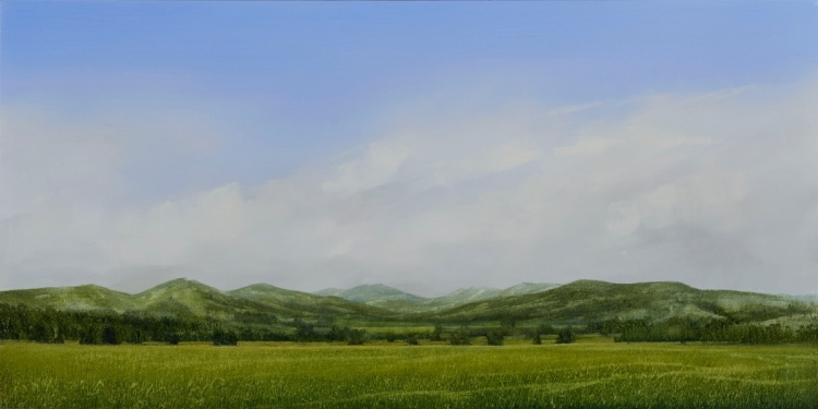 PETER BROOKE Galatin Valley