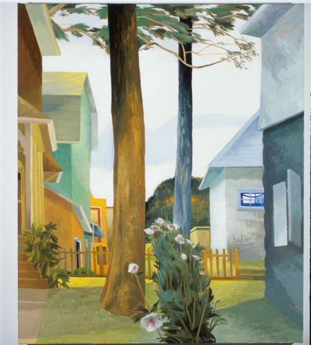 CELIA RESMAN   Two Trees, White Sky – Narbeth, Philadelphia 2004