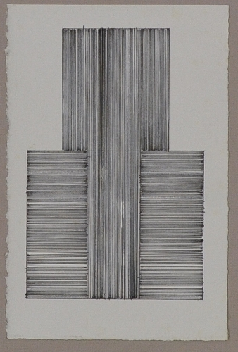 HELEN MATTESON  Untitled  Ink, (HL-492)