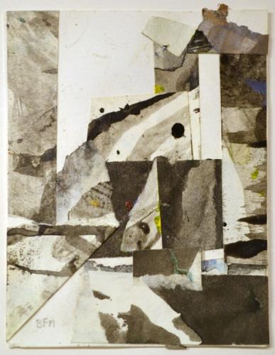 BEN FRANK MOSS  Landscape Silence No. 54 2014
