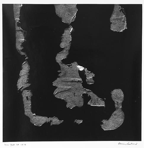 AARON SISKIND  New York 78 1976