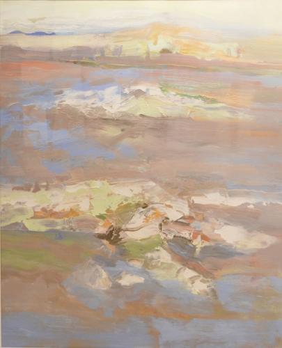 BEN FRANK MOSS  Island Dream No. 2 1989