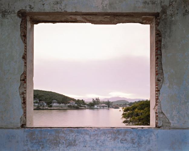 VIRGINIA BEAHAN, View from the ruins of Club Nautica, Santiago de Cuba, 2004