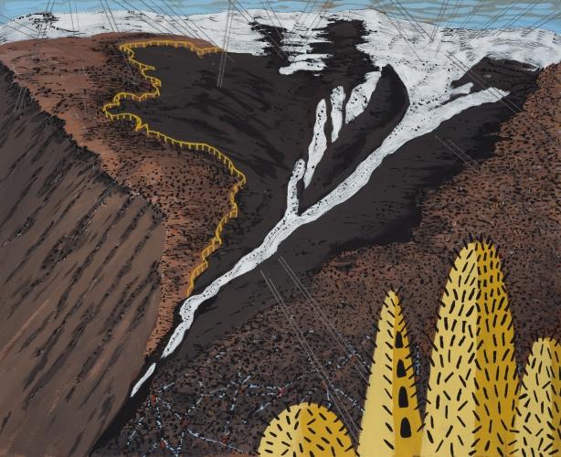 LAURIE SVERDLOVE  Sand & Ice 2016