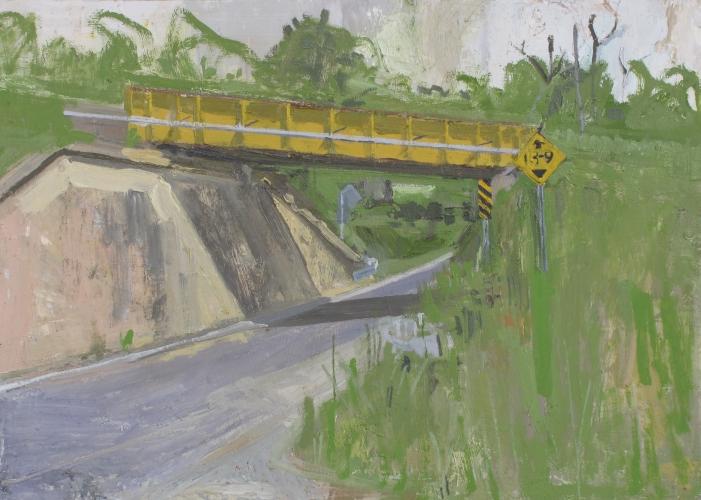 PETER FRIED  Yellow Bridge, Charlotte, VT 2016