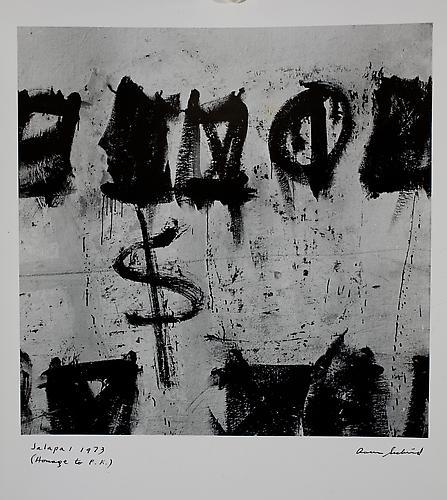 AARON SISKIND  Jalapa 1 (Homage to Franz Kline) 1973
