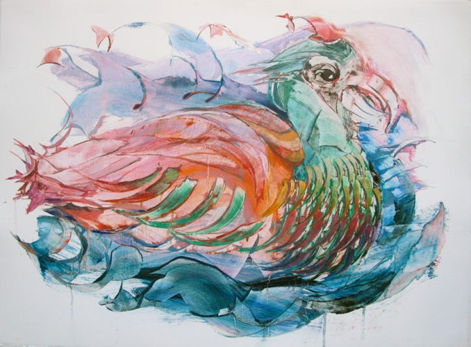 NANCY H. TAPLIN  Painted Bird 2013