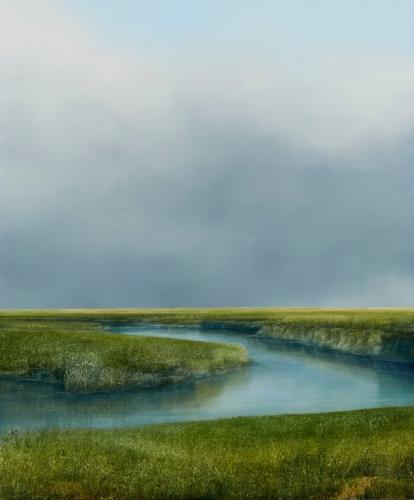 PETER BROOKE Prairie Oxbow
