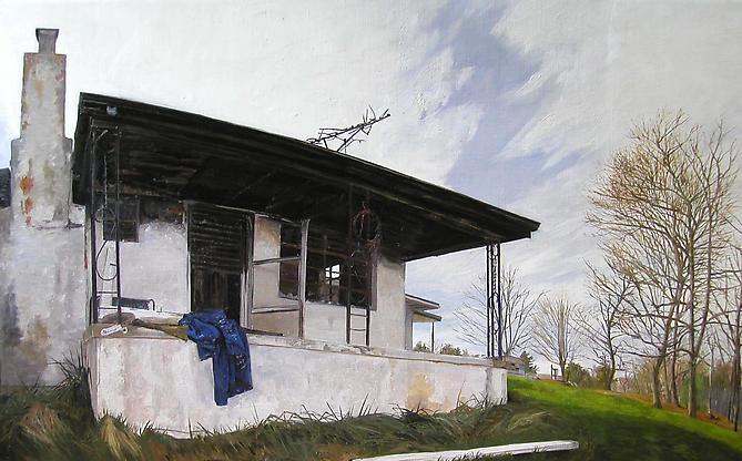 FELIX DE LA CONCHA  Burned House Boone, NC 2004