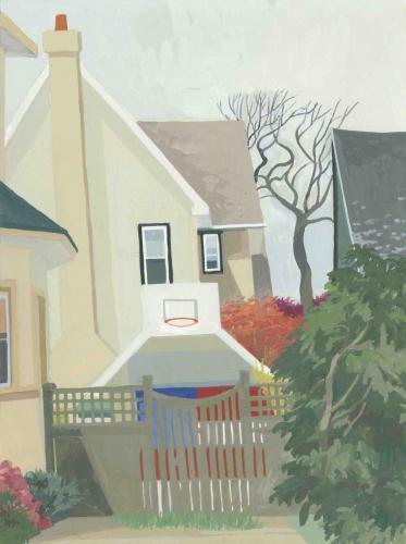CELIA REISMAN   See Through Fence – Narbeth, Philadelphia 2009