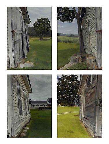 FELIX DE LA CONCHA  Four Vermont Shed Angles 2005
