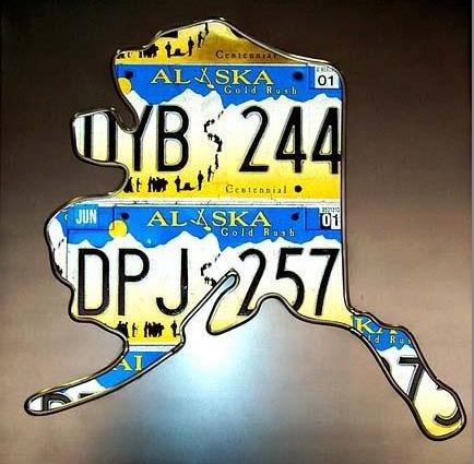 License plate art license plate art individual states solutioingenieria Choice Image