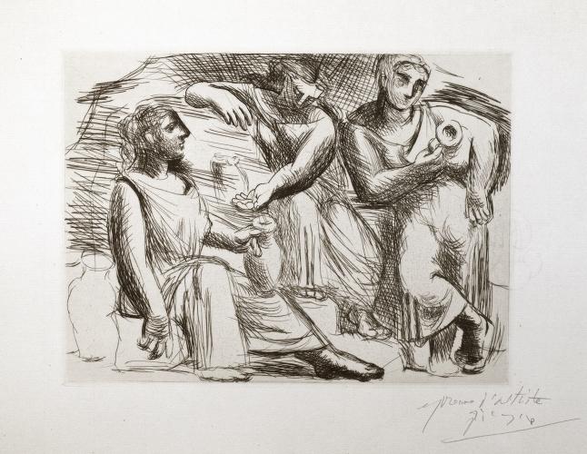 La Source (Trois Femmes à la Fontaine)