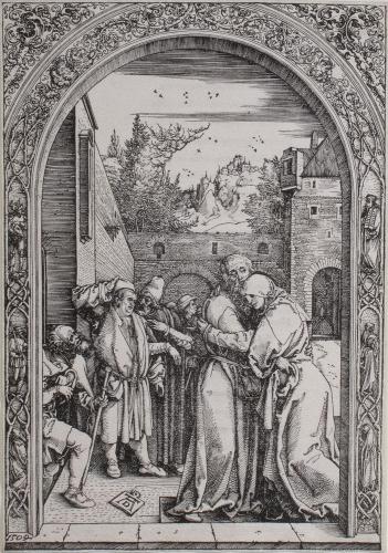 Joachim und Anna unter der goldenen pforte