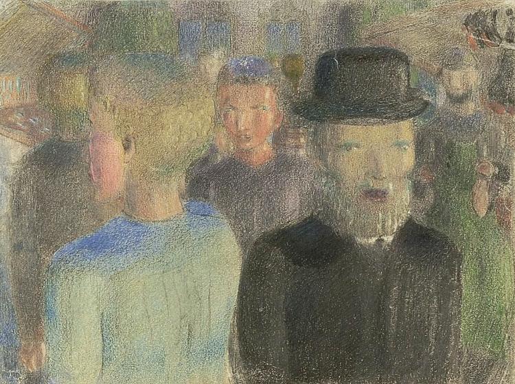 Otto Meyer Amden: Market in Weesen