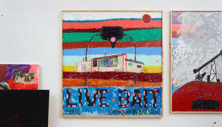 Richard Hawkins: Bait Paintings