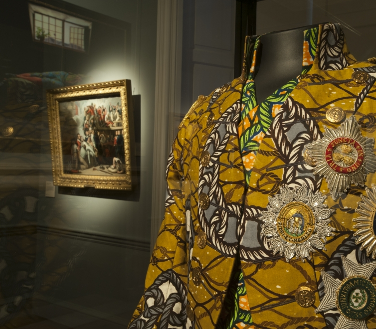 Yinka Shonibare MBE at Queen's House at National Maritime Museum