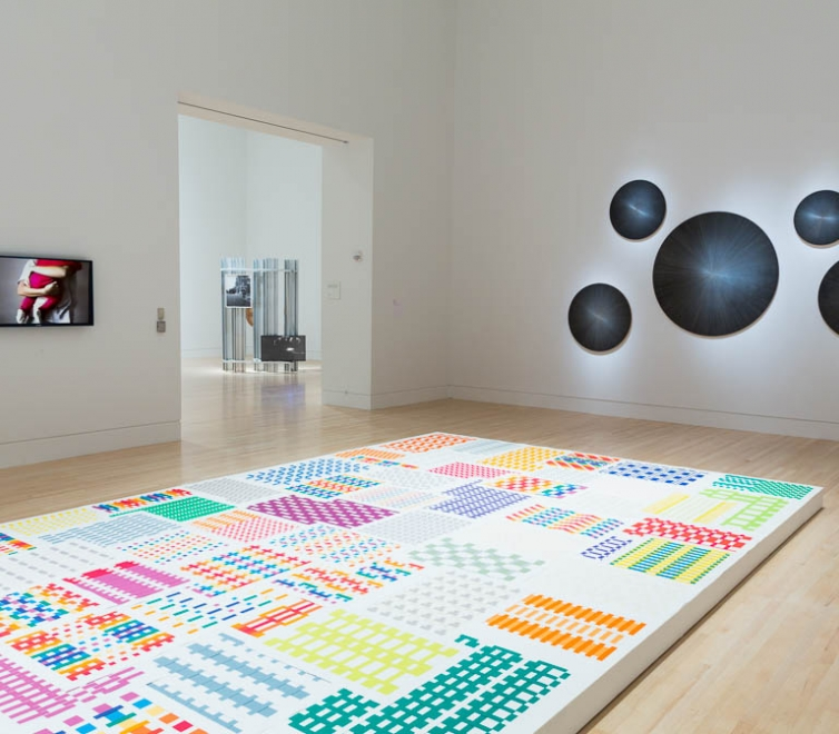 Michelle Grabner at the Indianapolis Museum of Art