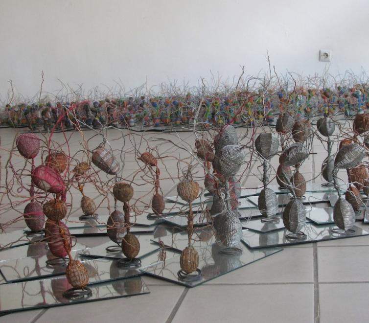 Elias Sime at Zoma Museum