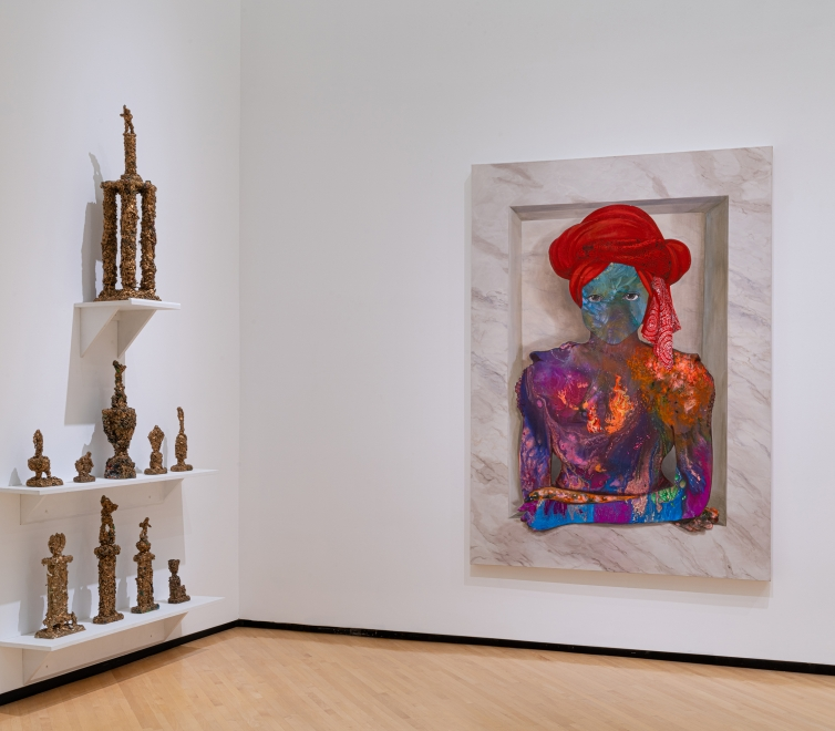 Firelei Báez at the Taubman Museum of Art