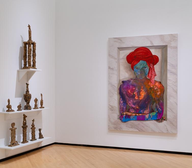Firelei Báez at the Taubman Museum of Art