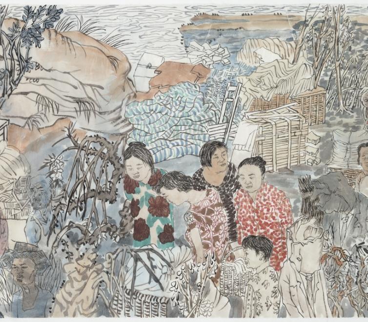 Yun-Fei Ji at the Honolulu Museum of Art