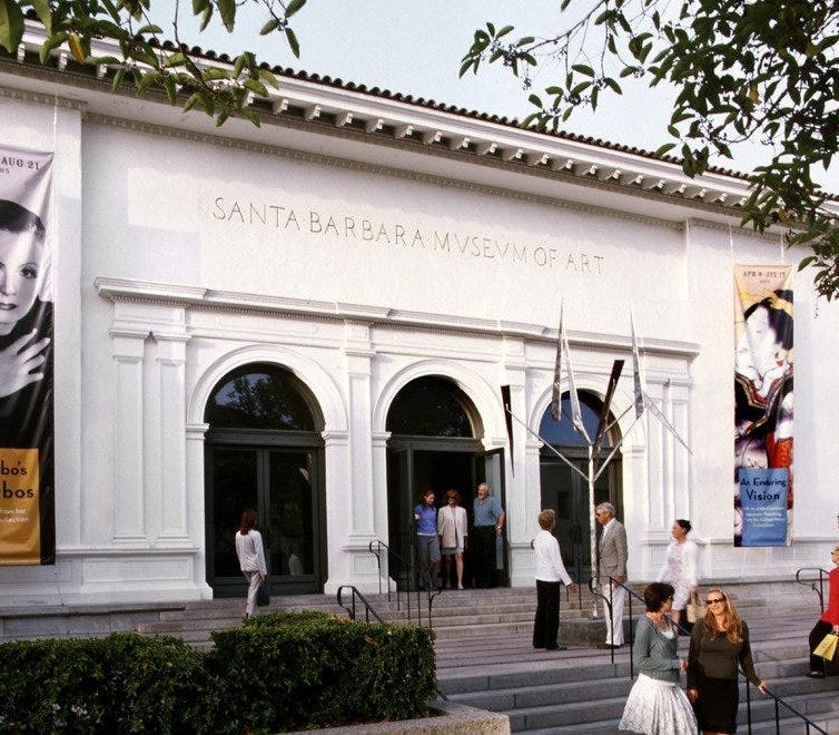 Lee Mullican at the Santa Barbara Museum of Art