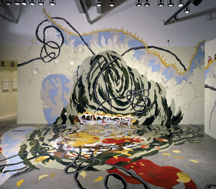 Matthew Ritchie at Miami MoCA