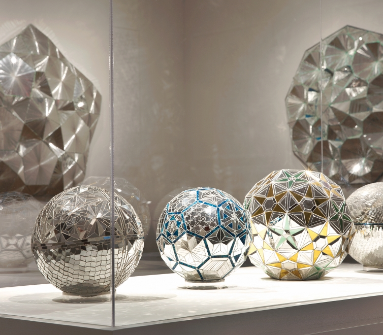 Monir Shahroudy Farmanfarmaian at the Chrysler Museum of Art
